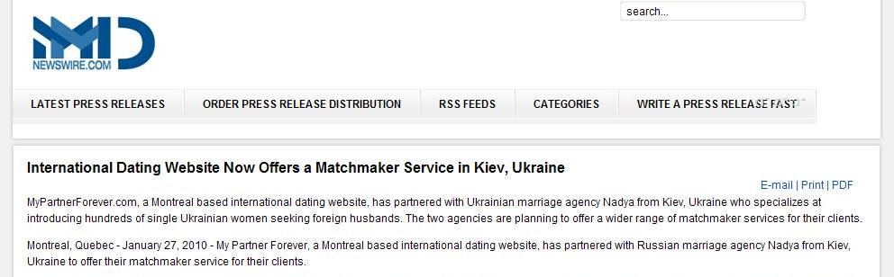 Reasons to use matchmaking services in Ukraine.