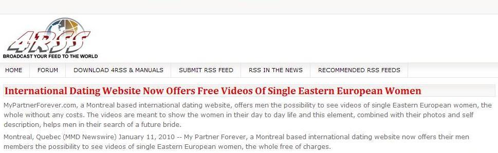 Dating website global
