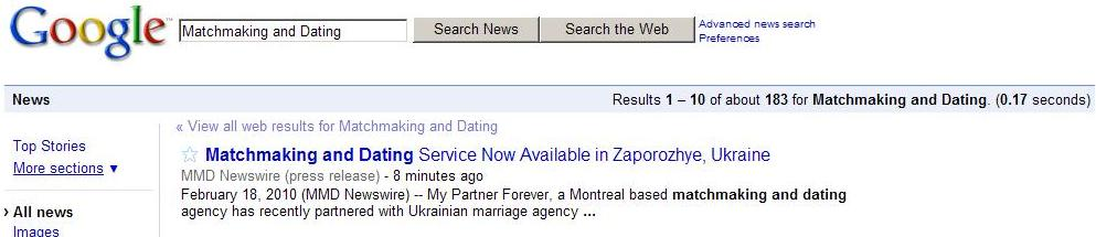 matchmaking services montreal