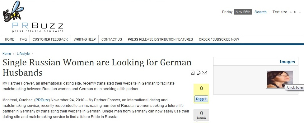Dating websites germany