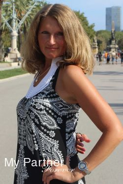 Dating Service to Meet Single Belarusian Lady Marina from Grodno, Belarus