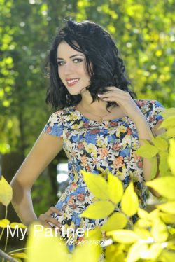 Datingsite to Meet Beautiful Ukrainian Woman Viktoriya from Poltava, Ukraine