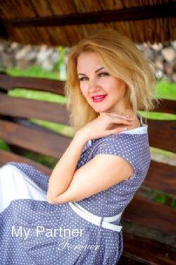 Online Dating with Gorgeous Ukrainian Woman Yuliya from Khmelnitsky, Ukraine