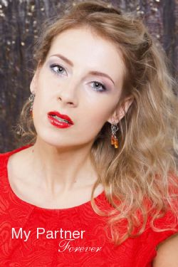 Pretty Belarusian Bride Anna from Grodno, Belarus