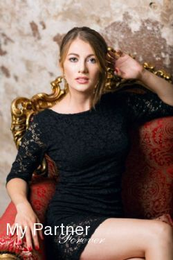 Online Dating with Pretty Ukrainian Woman Anastasiya from Kiev, Ukraine