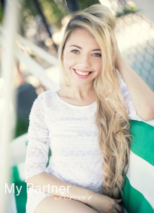 Meet Charming Ukrainian Woman Mariya from Zaporozhye, Ukraine