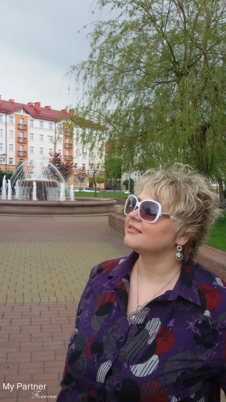 Datingsite to Meet Pretty Belarusian Lady Marina from Grodno, Belarus