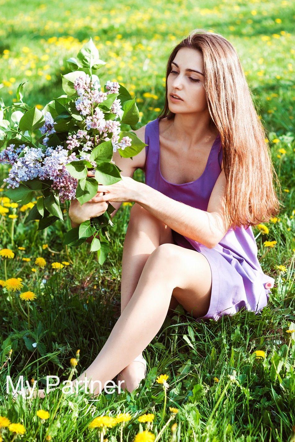 Charming Belarusian Lady Oksana from Grodno, Belarus