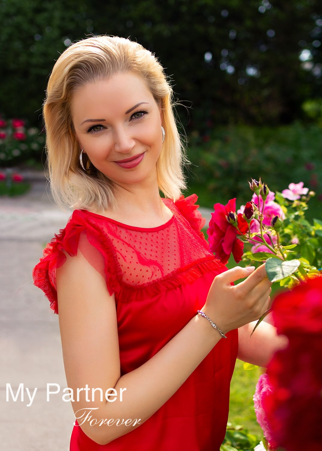 Dating Service to Meet Gorgeous Ukrainian Woman Nadezhda from Kiev, Ukraine