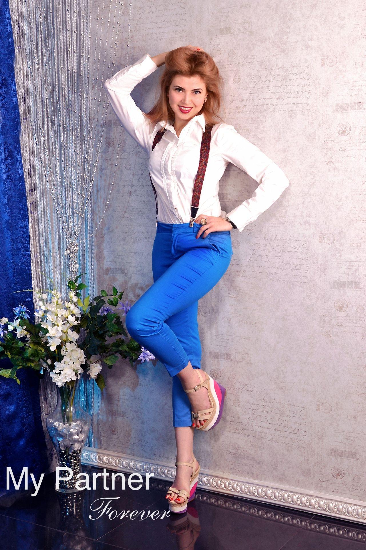 Dating Site to Meet Pretty Ukrainian Woman Alina from Kharkov, Ukraine