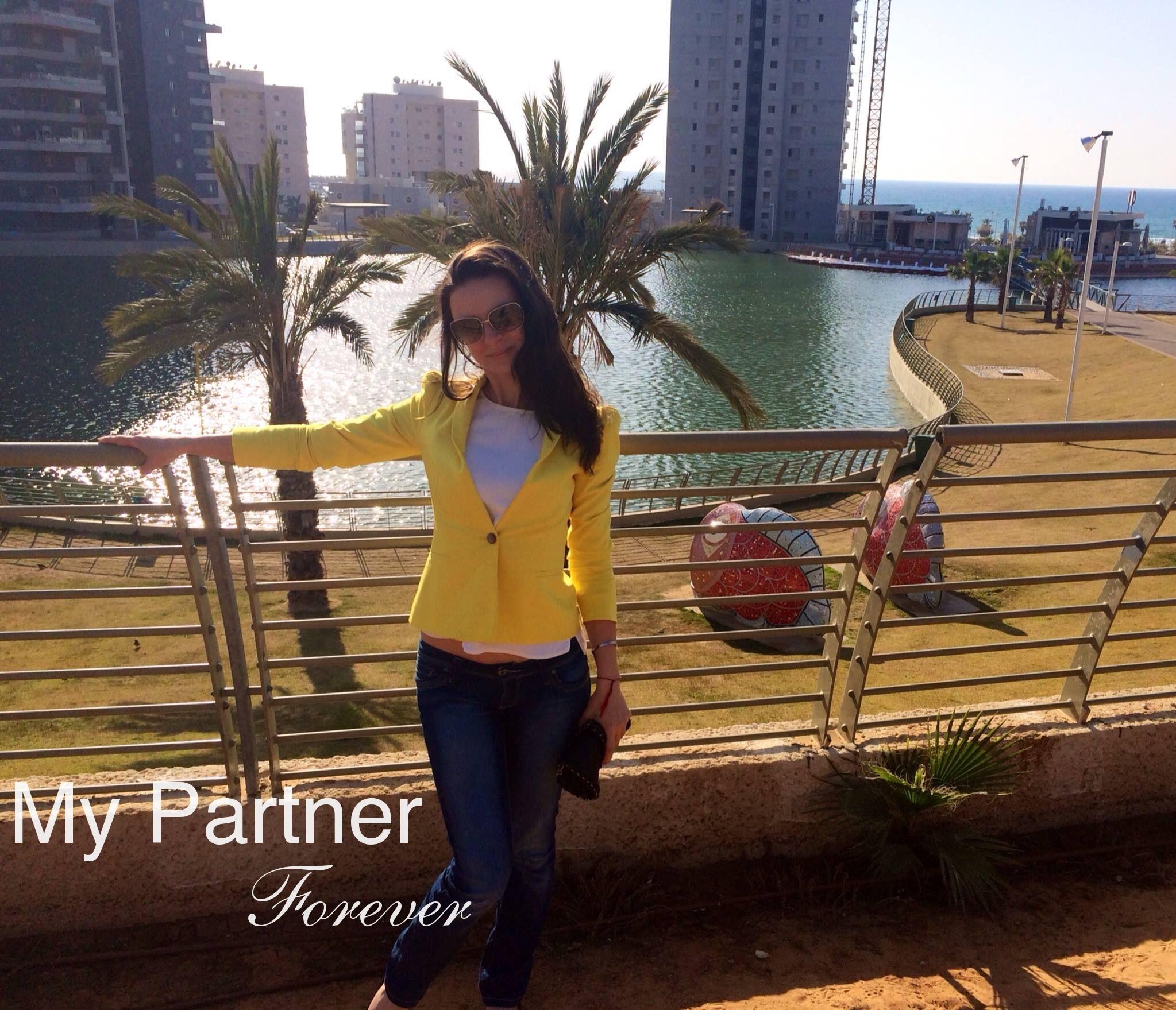 Datingsite to Meet Charming Ukrainian Lady Elena from Kiev, Ukraine