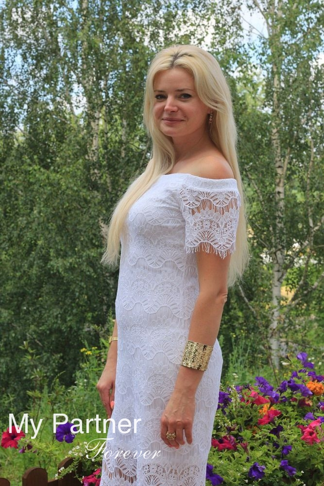 Gorgeous Belarusian Lady Zhanna from Minsk, Belarus