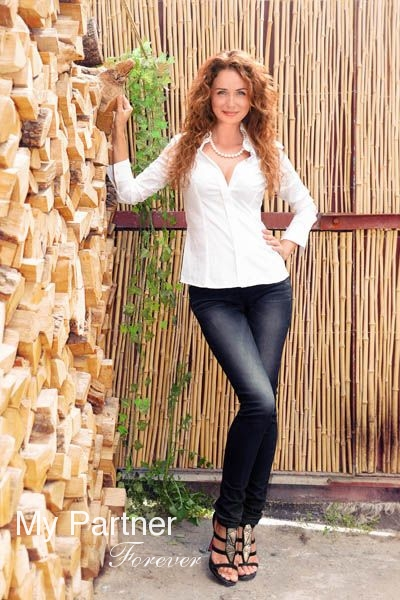 Online Dating with Charming Ukrainian Woman Elena from Kharkov, Ukraine