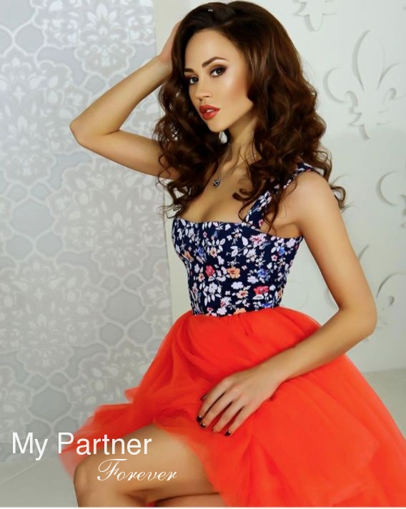 Online Dating with Pretty Ukrainian Woman Elizaveta from Kiev, Ukraine