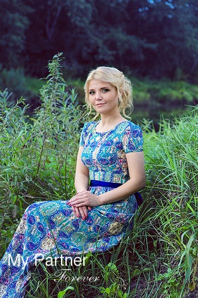 Online Dating with Single Russian Woman Nadezhda from Pskov, Russia