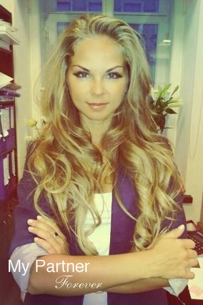 Russian Woman for Marriage - Marina from St. Petersburg, Russia