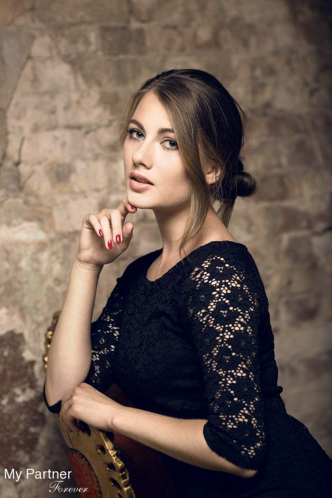 Online Dating with Gorgeous Ukrainian Woman Anastasiya from Kiev, Ukraine