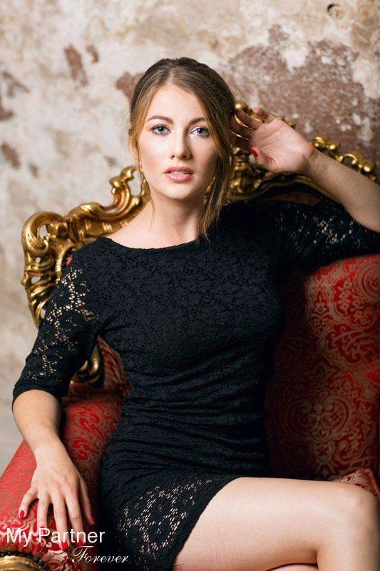 Online Dating with Pretty Ukrainian Woman Anastasiya from Kiev, Ukraine